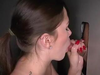 Gloryhole Swallow Debra 1st
