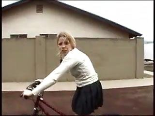 Fp Schoolgirl On A Bicycle Accepts A Lift And Fuck !