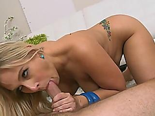 Cock Hungry Blonde Milf Angel Allwood Gets Picked Up And Smashed