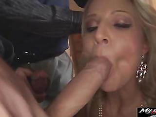 Samantha Jolie Is Gangbanged By Group Of Guys