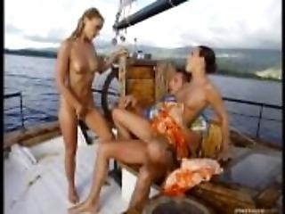 A Lucky Boat Captain Has a Threesome with Claudia and Maya-PRV021_s03