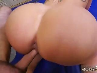 Skinny Nerd Teen Dominant Milf Gets A Creampie After Anal Sex