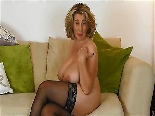British Mature Waiting For Hard Cock In Her Mouth