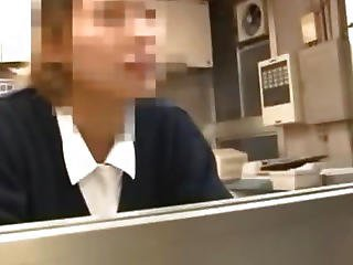 Naughty Japanese Teen Gets Fucked