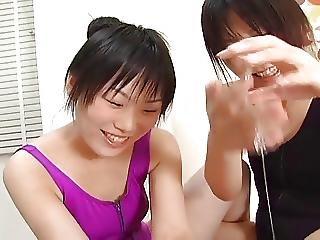 Ako And Miyu Lotion Play