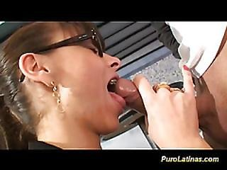 Anal, Ass, Facial, Gagging, Glasses, Latina, Milf, Model, Orgasm, Pussy, Shaved, Tight, Tight Pussy