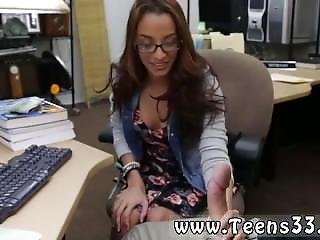 Ghetto Amateur First Time College Student Banged In My Pawn Shop!