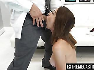 Cute Joseline Receives A Massive Load Of Cum On Her Face