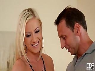 Ddfnetwork - Vicktoria Redd Offers 3some Douple Penetration To Shy Guy