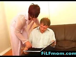 Mom Lesson To Son With Blonde Girl - Free Family Sex Videos At Filfmom.com
