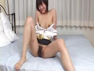 Mako Takeda Sweet Porn Play On Her Hairy Vagina