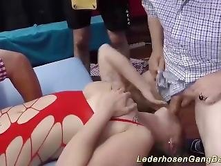 Extreme Gagging At Our Party Orgy