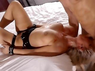 New Most Extreme Deepthroat Training Scene Ever Kate Truu In Thigh Cuffs