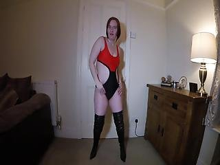 Swimsuit And Thigh Boots