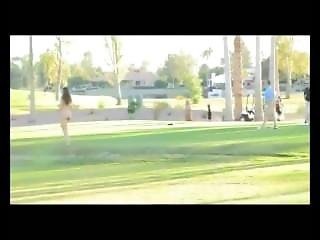 Golf, Public, Teasing