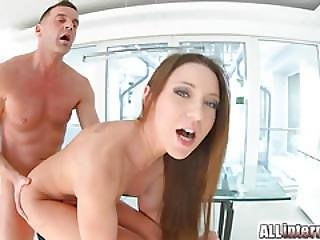 Allinternal Julie Skyhigh Loves Taking A Messy Creampie In Her Hole