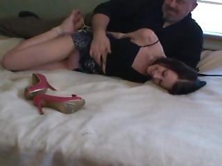 Belly In Bondage