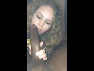 Aston University Freshers Girl Sucking A Big Dick