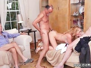 Old Teacher Young Girl Frankie And The Gang Tag Team A Door To Door