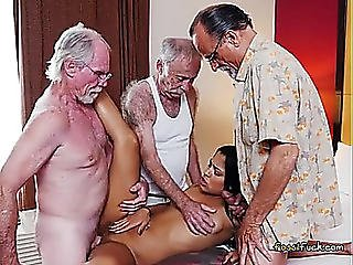 Legal Age Teenager Nikki Kay Enjoys Sugar Daddies Large Ramrods