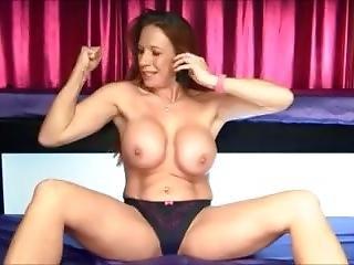 Faye Rampton Muscle Flexing