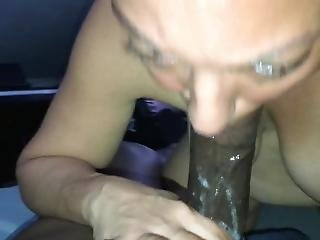Wife Gives Sloppy Deepthroat With Lots Of Spit And Tongue Play!