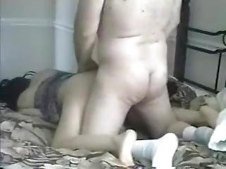 Daddy Sex Playing Hard To Wife