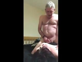 Slut Milf Bbw Being Fucked, Choked And Cum On