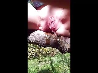 Requested, Autumn Nature Peeing Compilation