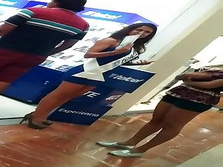 Voyeur Mexicana Miniskirt Edecan