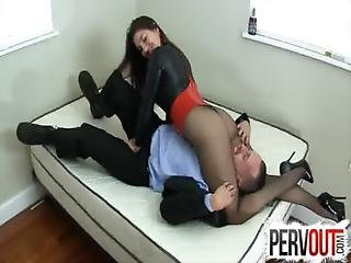 Face Sitting Penis Pumper Preview