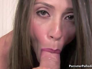 Holy Desirable Pornstar Blowing
