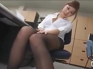Asian In Pantyhose 9