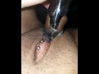amatõr, csikló, krém, maszturbáció, orgazmus, szóló, játékszerek