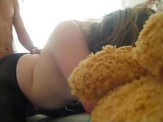 Teen Blonde Fucked On Pantyhose