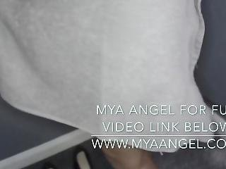 British Indian Mya Angel Gives Landlord A Bj & Rubs Pussy To Pay Rent