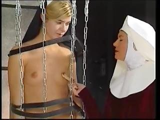 Dungeon Abbey Nun Torture Bdsm Chained Caged