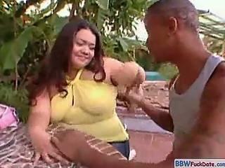Bbw brazilian fucked in the ass