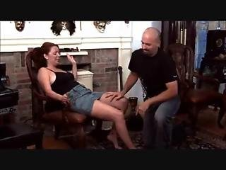 Spanked And Fucked For Jabbering