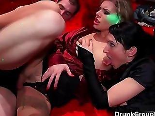 Horny Drunk Sluts With Nice