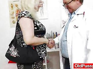 Action, Closeup, Doctor, Enema, Examination, Hospital, Muff, Pussy, Speculum, Spit