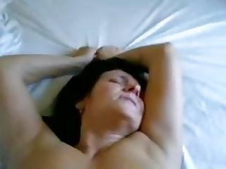 Granny Pov 28 Missionary With A Busty Gilf On The Bed