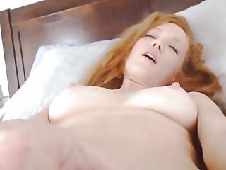 Redhead Beauty Masturbate Till Spasms