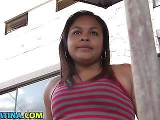 Chubby Latina Facefucked