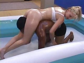 Mixed Oil Wrestling 2