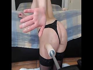 mignonne, sexe, solo, jet de mouille, webcam
