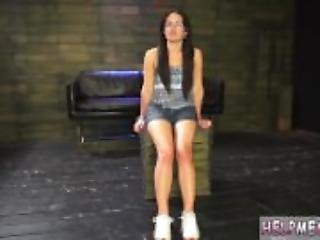 Rubber maid bondage first time Helpless