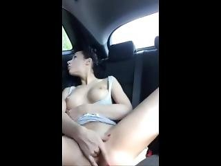 Squirting On The Backseat Of My Car