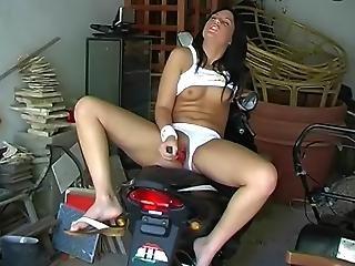 Masturbating In The Garage1