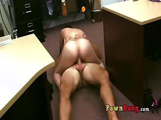 Fucking A Cuban Chick For Her Tv 0031